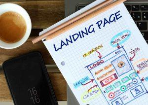 Site internet de type Landing Page